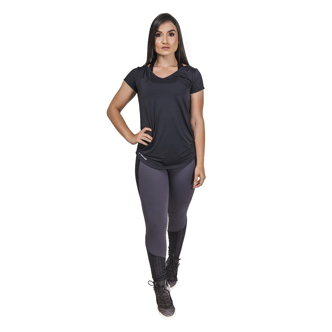 Legging Fitness Graphite - Cinza