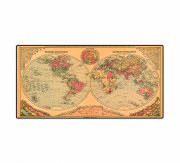 MOUSE PAD GAMER EXBOM MP-7035 MAPA BEGE