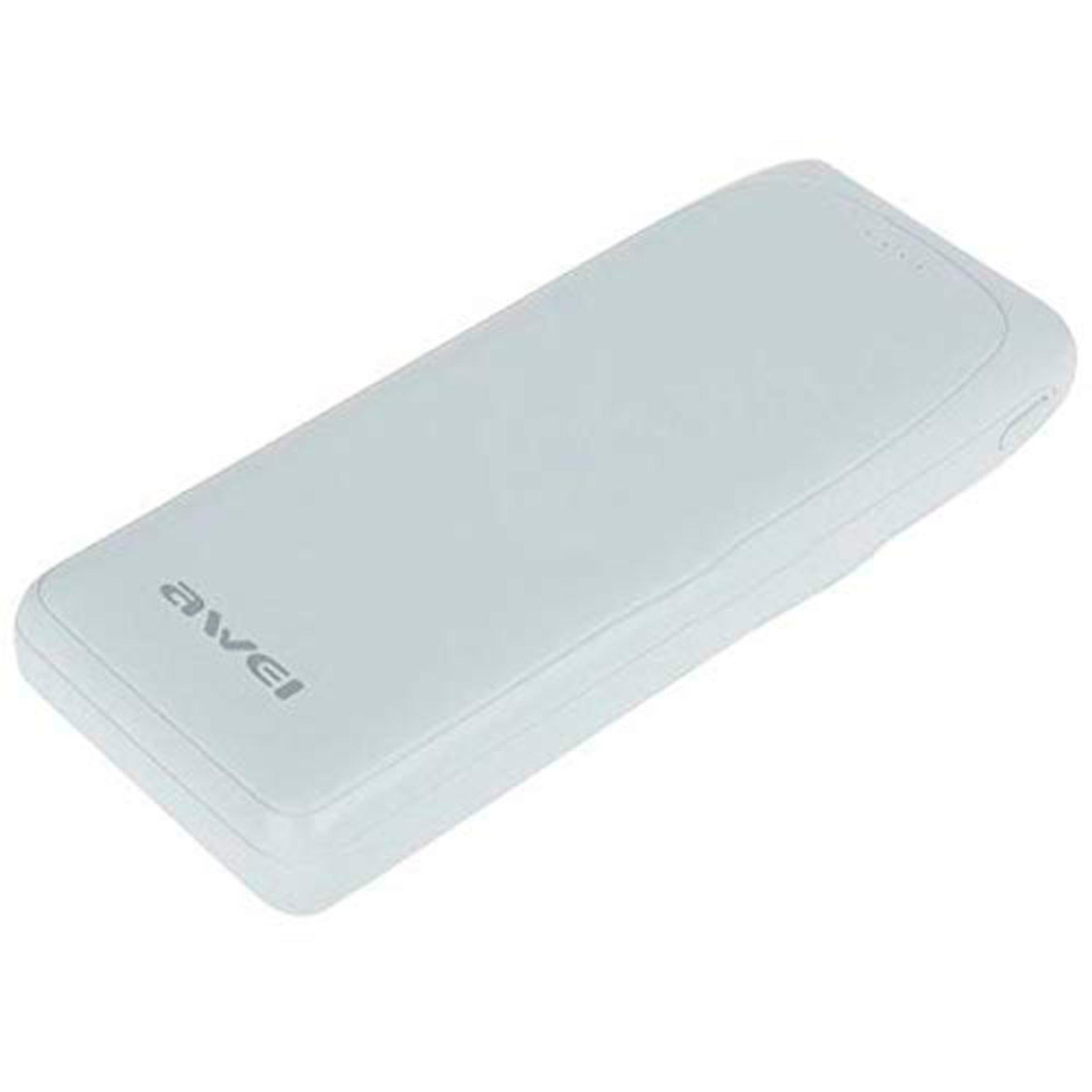 POWER BANK DUAL USB P66K 20000 BRC AWEI