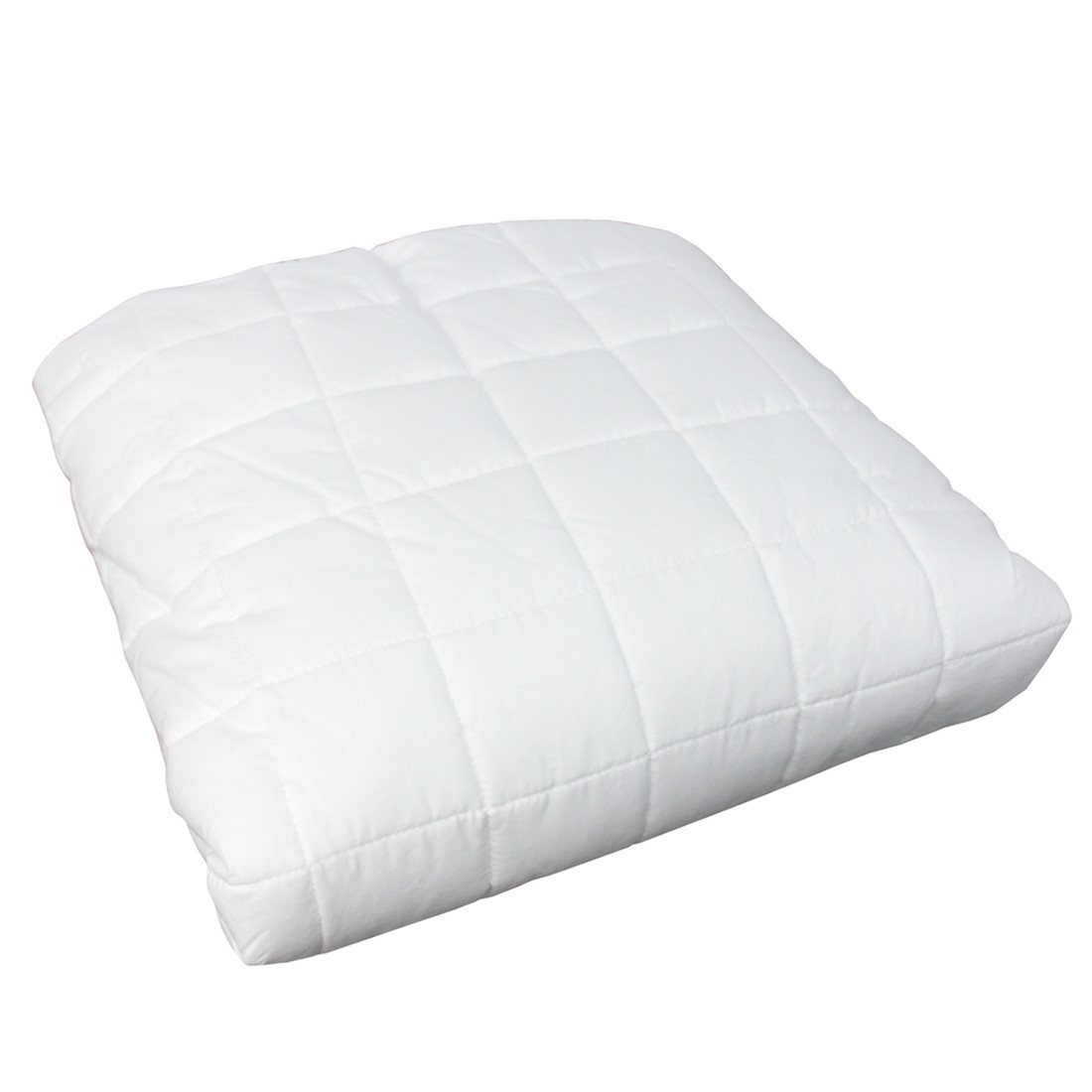 Colcha Com Elástico Percal 200 Fios Cubos branca