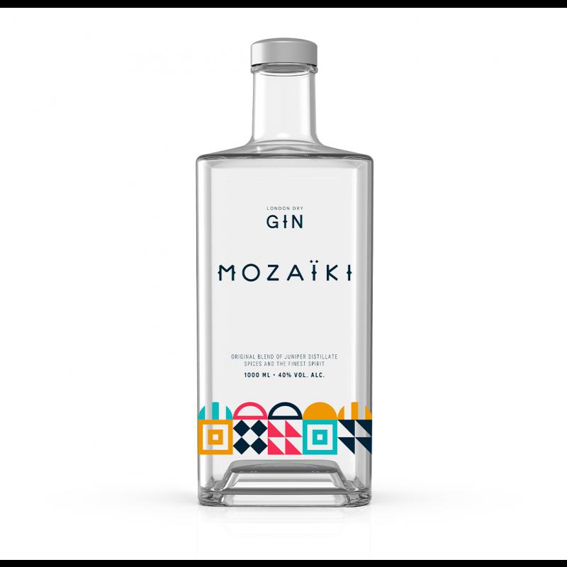 Mozaiki London Dry Gin 1000ml