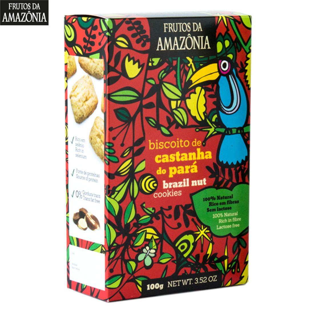 Biscoito de Castanha do Pará - 100g