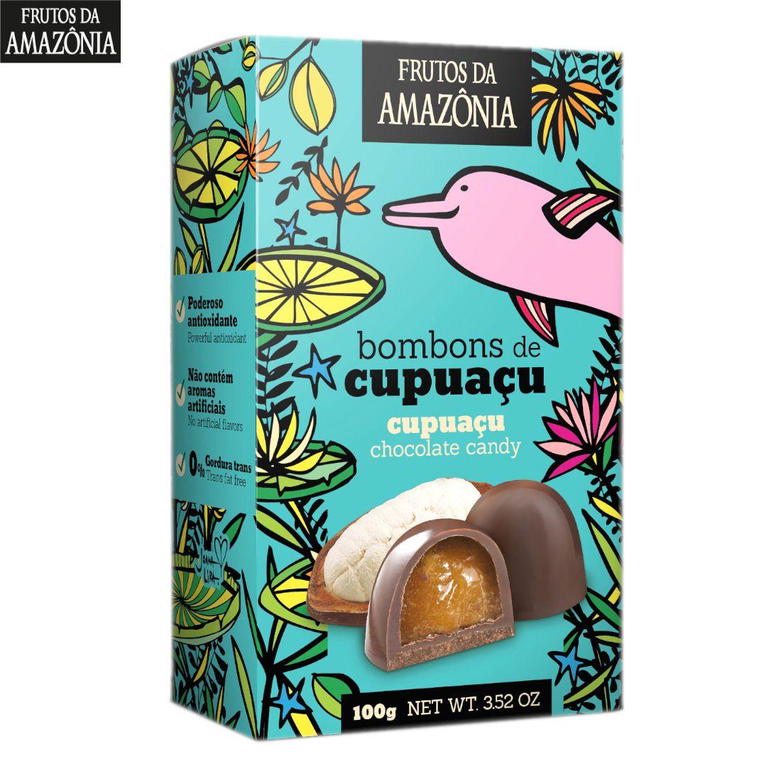 Caixa c/ Bombons de Cupuaçu