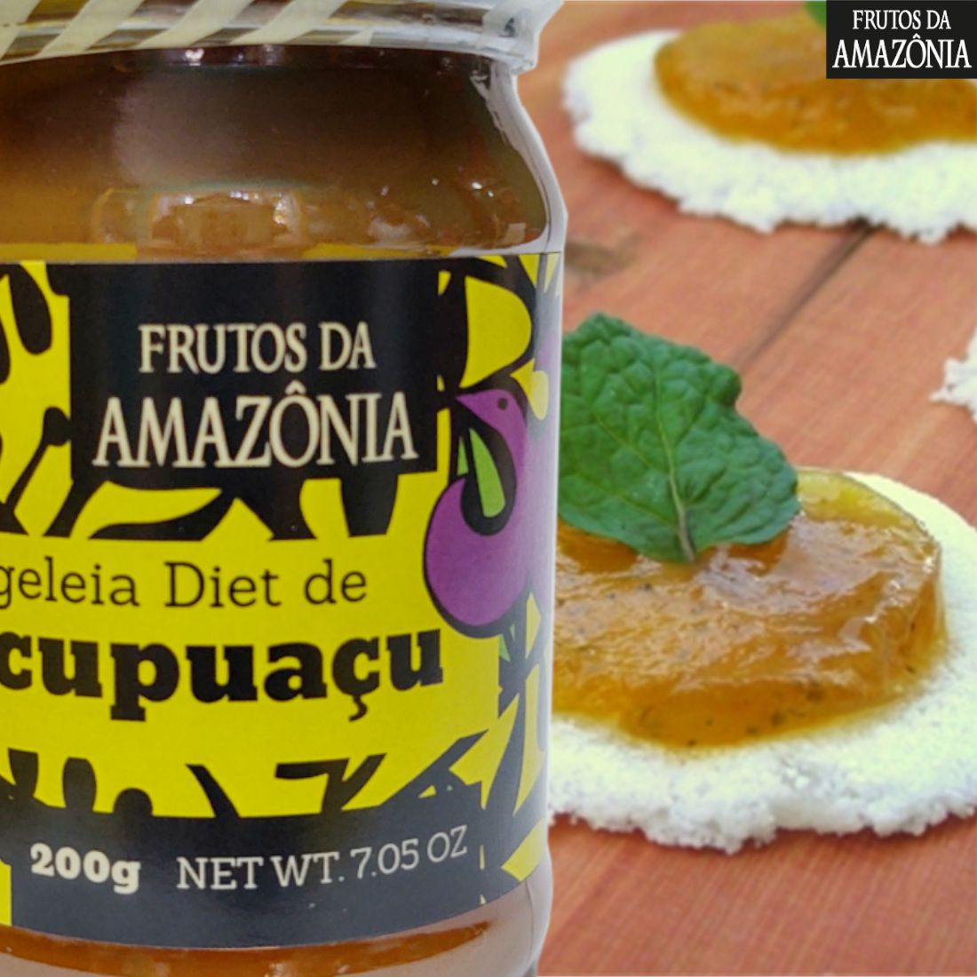 Geleia Diet de Cupuaçu