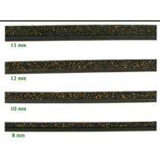 Poleiro Cortiça Preta  8 mm 3 pçs de 30 cm