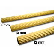 Poleiro Estriado 10 mm 3 pçs de 30 cm