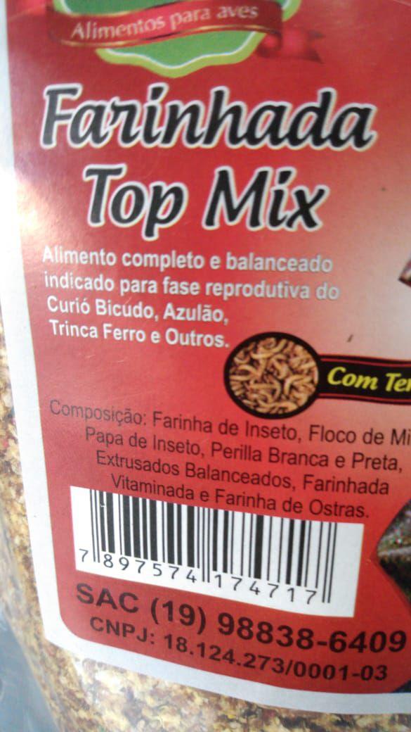 Farinhada Top Mix -Torneio Nutrição