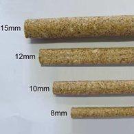 Poleiro Cortiça Branca 8 mm 3 pçs de 30 cm