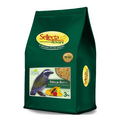 Sellecta - Trinca-ferro Natural com Frutas 3kg