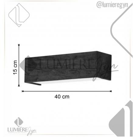 ARANDELA CLEAN 15X40cm - 2xE27 - AR34 - FOXLUSTRES