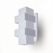 ARANDELA EFEITOS 25X11,5cm LED INTEGRADO ALUMINIO  – 254/2