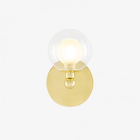 ARANDELA GRAPP  1 5x15 cm  GOLDEN-ART - P2820-1