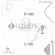 ARANDELA IP20 13,5X16X12CM METAL | OLD ARTISAN AR-4972