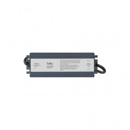 FONTE/DRIVER LED BRILIA 301702 75W 3,125A 24V IP67 BIVOLT