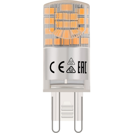 LÂMPADA LED HALOPIN G9 2400K QUENTE 7W 220V - NORDECOR 1098