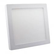 PAINEL DE LED DE SOBREPOR 22X22 18 W  - AMARELO (3000K)
