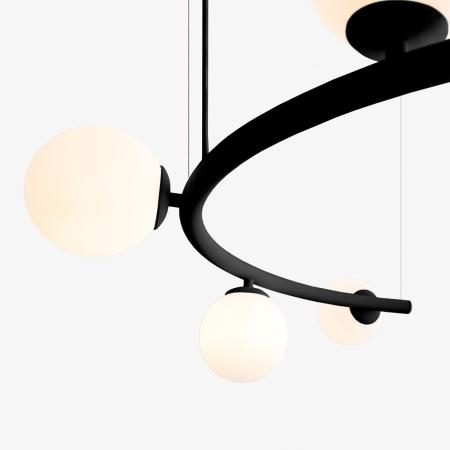 PENDENTE ARCO 107cm x 57cm x 26,5cm  GOLDEN-ART - T8080- V