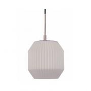 PENDENTE CASUAL LIGHT PD1142 SHAPE 1L E27 Ø180X190MM BRANCO/COBRE