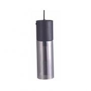 PENDENTE CASUAL LIGHT QPD134PT SPIRE 1L E27 Ø90X300MM PRETO