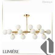 Pendente  Jabuticaba Balls Dourado 16 Lamp