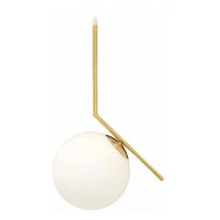 Pendente L Metal Dourado Esfera Globo E27 -Delis