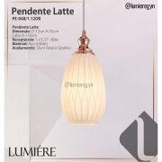 Pendente Latte Rose Gold PE-049/1.14OR