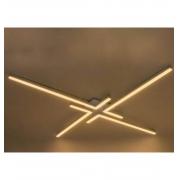 PLAFON LED NEWLINE PL15016LED1 FIT 15 44W 3000K 3600LM 1070X1070X30MM