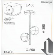 Plafon Old Artisan PLF-5417 2L Halopin