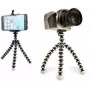 Suporte Celular Câmera Flexível Tripe Universal Gps