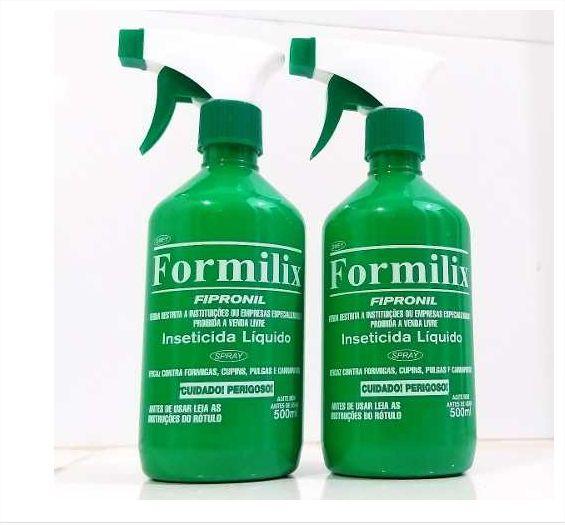 Kit Com 2un De Formilix Original 100% 500ml Cada Frasco