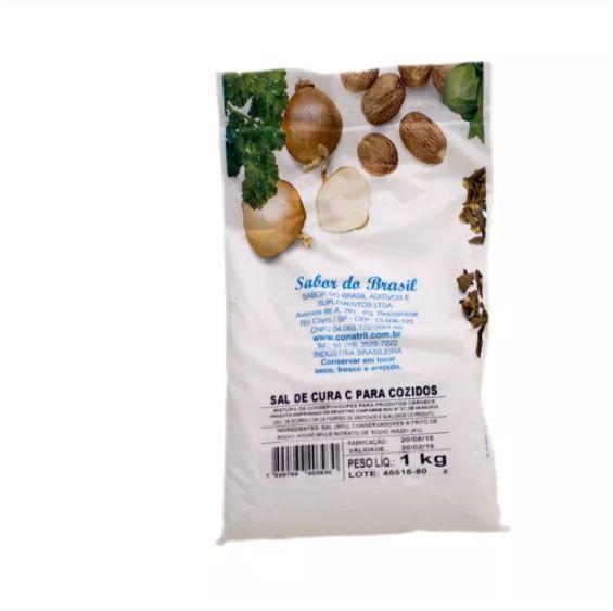 Sal De Cura 2 Para Cozidos - Nitrito Nitrato De Sódio - 1 Kg