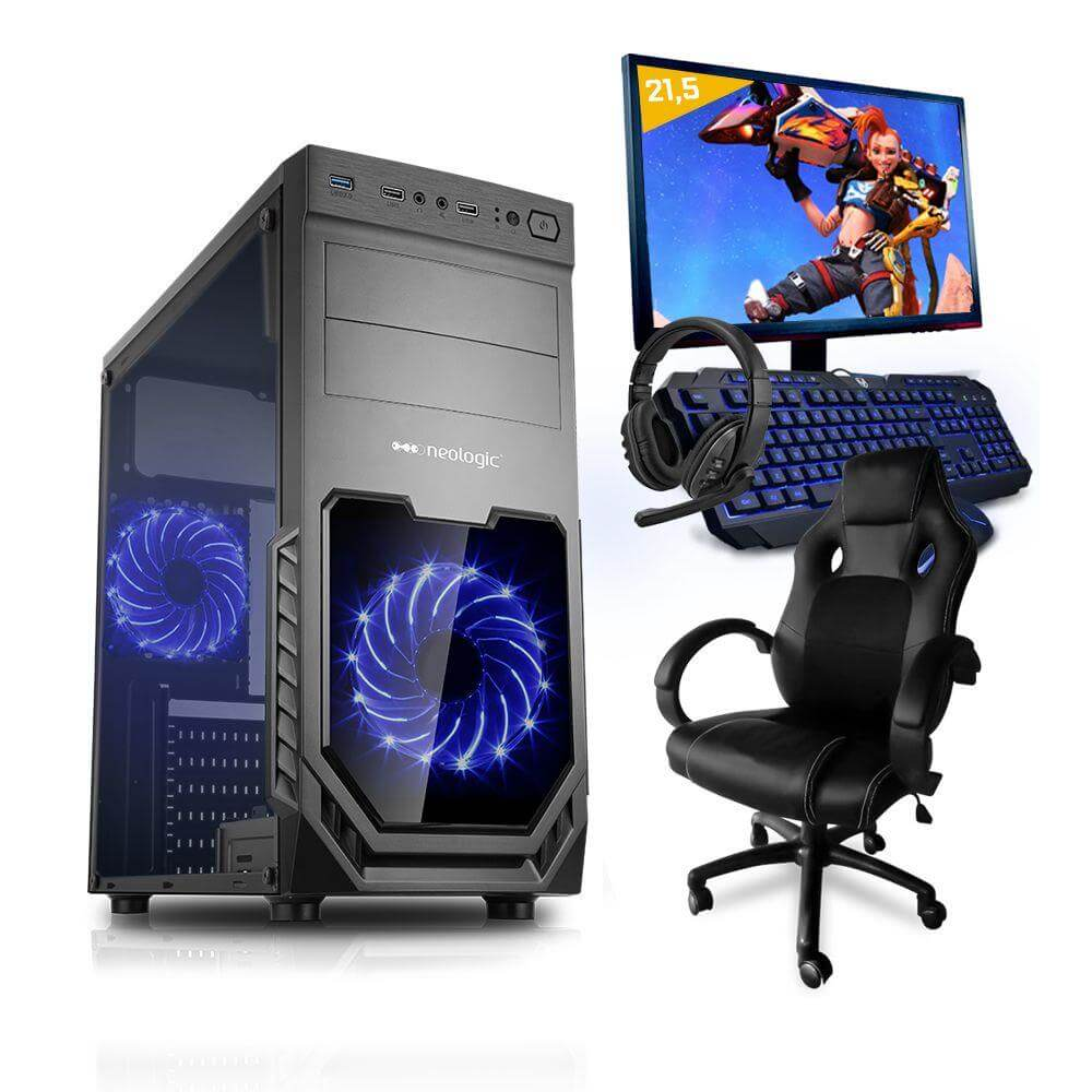 Pc Gamer Completo Smart Pc Smt81263 Intel I5 8gb (geforce Gtx 1650 4gb) 1tb + Cadeira Gamer