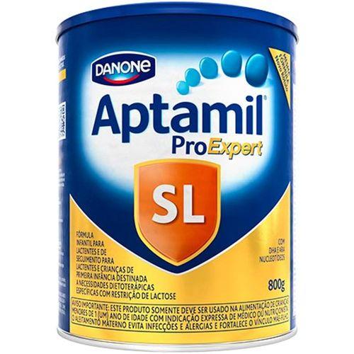 Aptamil Sem Lactose Pro Expert Fórmula Infantil 800g