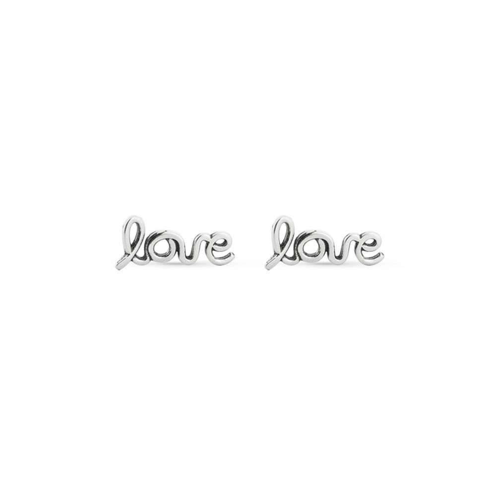 Brinco Love Prata 925