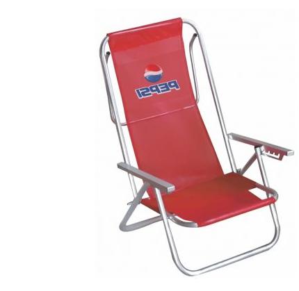 Cadeira de Praia em Alumínio REF.: CDP002