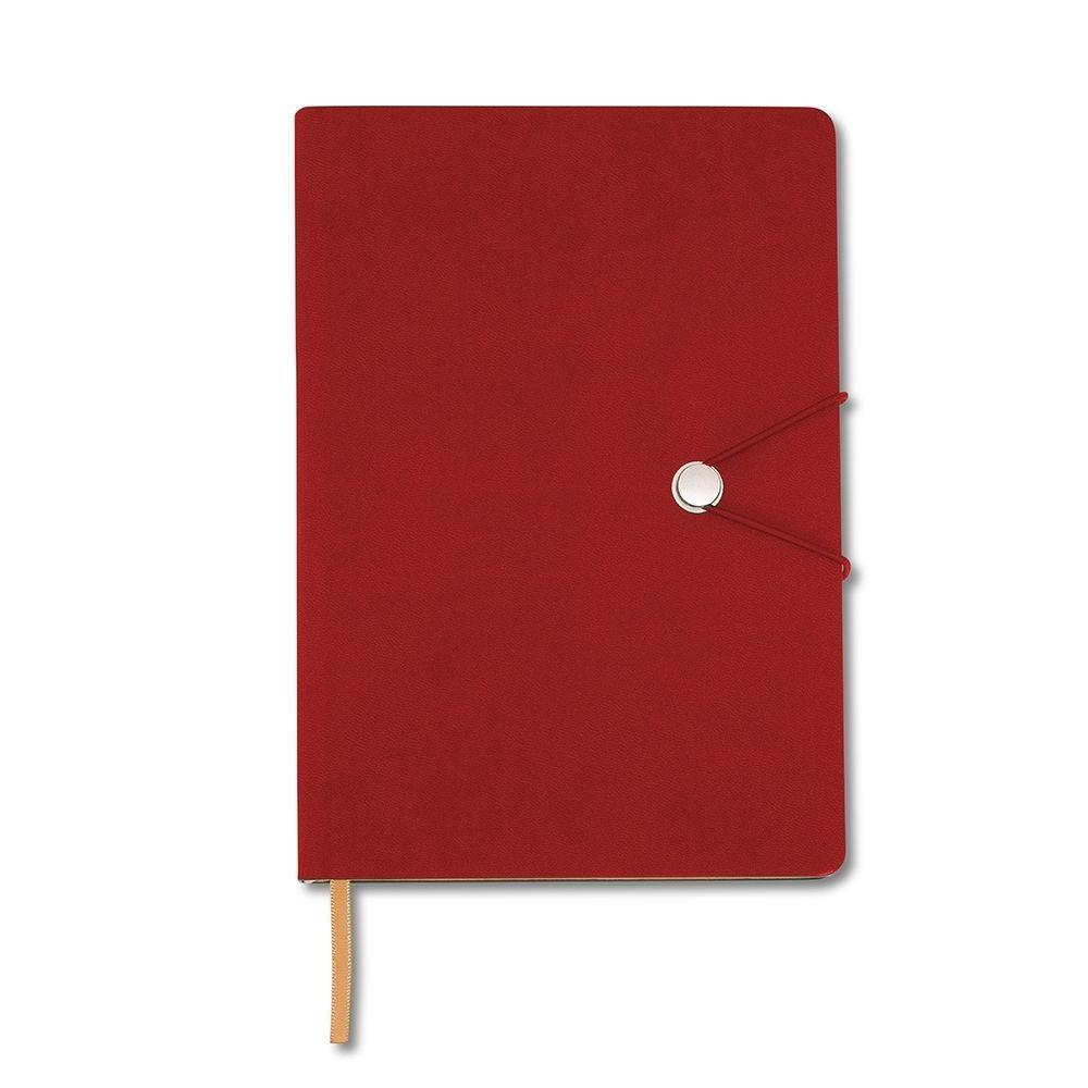 Caderneta Tipo Moleskine com Fecho REF.: 18519