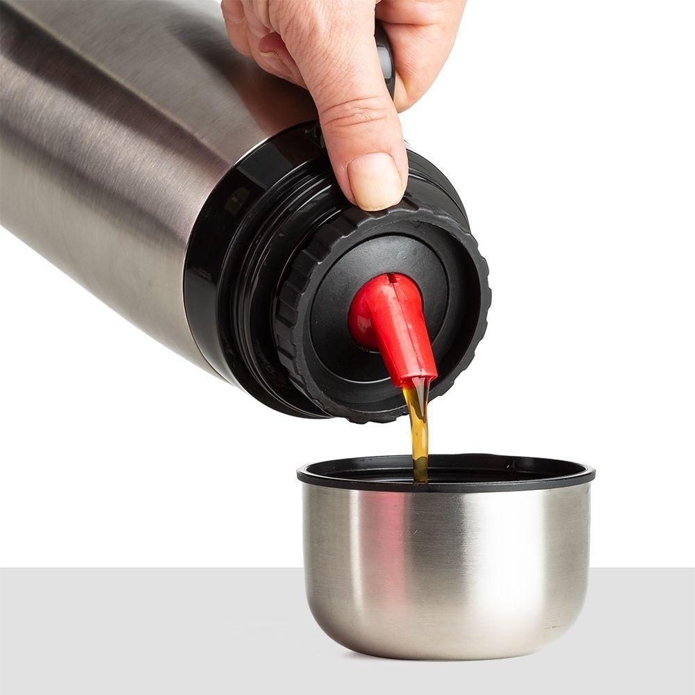 Garrafa Térmica Inox 1 Litro REF.: 02090