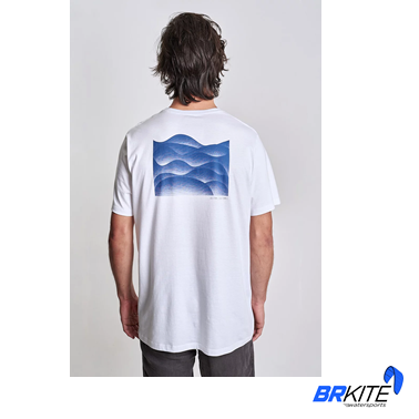 AUSTRAL - Camiseta Melting Waves Branca