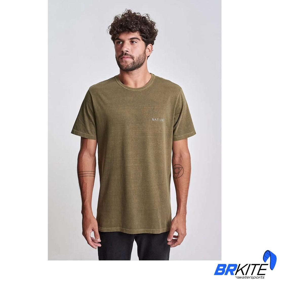 AUSTRAL - Camiseta Nature Verde Militar