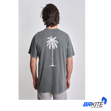 AUSTRAL - Camiseta Palm Tree II Verde Floresta