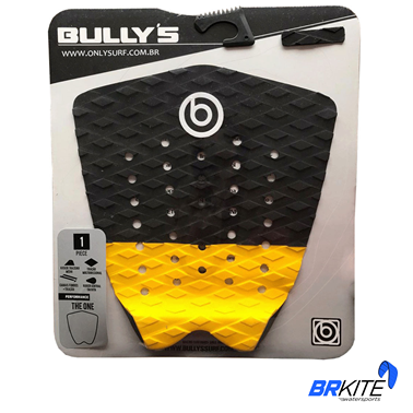 BULLYS - DECK THE ONE PRETO E AMARELO
