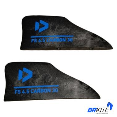 DUOTONE - FINSET CARBON 30 FS 4,5 - BLACK (2 PCS) SPARE PART