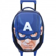 Mochila de carrinho Avengers Capitao America Face Xeryus