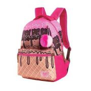 Mochila de Costa Sweety Sorvete Ice Cream Rosa POMPOM