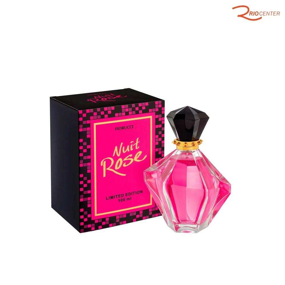 Deo Colônia Fiorucci Nuit Rose Limited Edition - 100ml