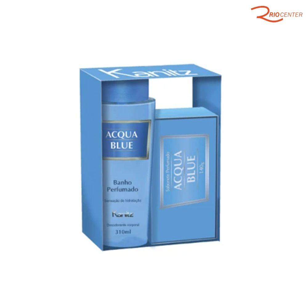 Kit Kanitz Desodorante Corporal Acqua Blue