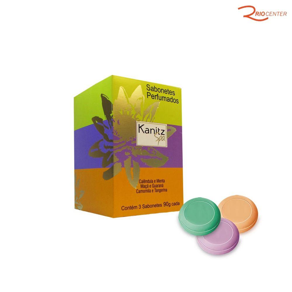 Kit Sabonete Perfumado Kanitz Spa Com 3 Uni de 90g