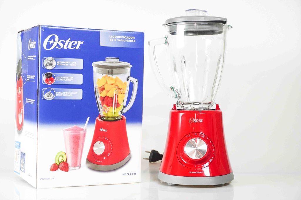 Liquidificador Super Chef Oster Vermelho 8 V.