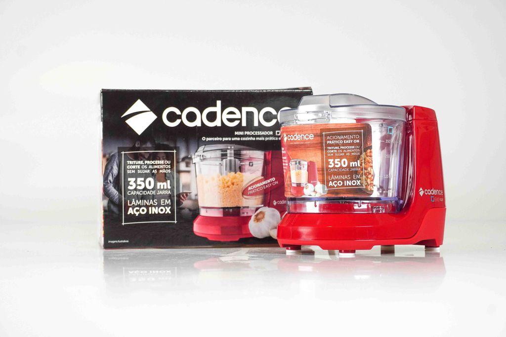 Mini Processador Cadence Easycut Vermelho, 350ml.