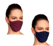 Kit 2 Pacotes Mascara Lupo Zero Costura vírus Bac-off